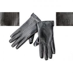 Dámske kožené rukavice 1170 Coveri Collection, L, Čierna