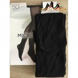 Dámske pančuchové nohavice s mikrovláknom 1469 čierne 50 DEN  1469