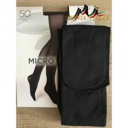 Dámske pančuchové nohavice s mikrovláknom 1469 grafit 50 DEN  1469