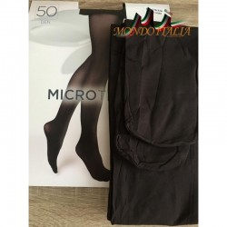 Dámske pančuchové nohavice s mikrovláknom 1469 tmavá káva 50 DEN  1469