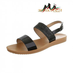 Dámske sandále 1149 čierne