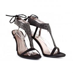 Dámske sandále 316 čierne Nedline Shoes, Čierna, 40 #1