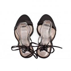 Dámske sandále 316 čierne Nedline Shoes, Čierna, 40 #3