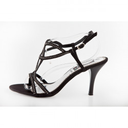 Dámske sandále 323 Nedline Shoes, Čierna, 40