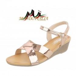Dámske sandále 342 šampanské  342