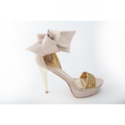 Dámske sandále 352 Marta Marzotto, 41, Zlatá