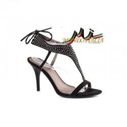 DÁMSKE SANDÁLE čierne Nedline Shoes 316A
