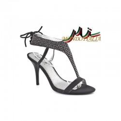 DÁMSKE SANDÁLE tmavošedé Nedline Shoes 310