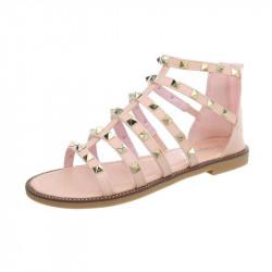 Dámske trendové sandále ružové
