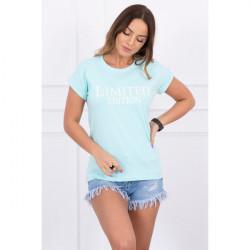 Dámske tričko LIMITED EDITION mätové MI65296, Uni, Mäta