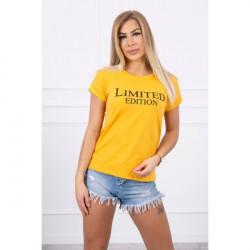 Dámske tričko LIMITED EDITION okrové MI65296, Uni, Okrová