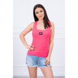 Dámske tričko s plieškom MI8986 ružové, Uni, Ružová