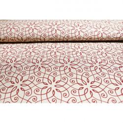 Dekoračná látka, š. 140 cm Červená