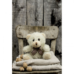 Detská deka TEDDY4 MIG505, Hnedá, 130 x 160 cm