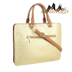 Elegantná dámska kabelka 418 zlatá  418 #1