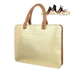 Elegantná dámska kabelka 418 zlatá  418 #2