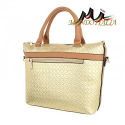 Elegantná dámska kabelka 418A zlatá  418A #2