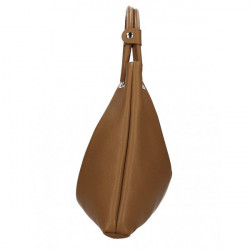 Kožená kabelka do ruky 1458 tmavomodrá MADE IN ITALY Modrá #3