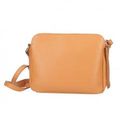 Kožená kabelka na rameno 517 zelená Made in Italy Zelená #2