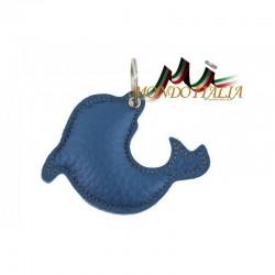 Kožená kľúčenka delfín 179 MADE IN ITALY 179