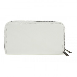 Kožená peňaženka 823 biela, Biela