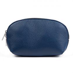 Kožené púzdro 593 modré Made in Italy, Modrá