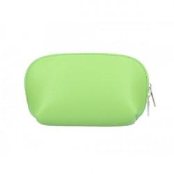 Kožené púzdro 593 svetlo zelené Made in Italy Zelená