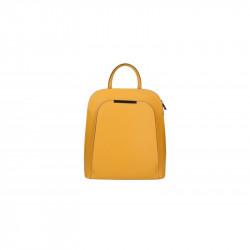 Kožený batoh 5082 okrový MADE IN ITALY, okrová