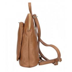 Kožený batoh MI899 biely Made in Italy, Biela #2