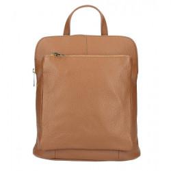 Kožený batoh MI899 biely Made in Italy, Biela #3