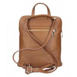 Kožený batoh MI899 biely Made in Italy, Biela #4