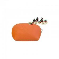 KOZMETICKÁ TAŠTIČKA STREDNÁ oranžová 593B MADE IN ITALY 593B