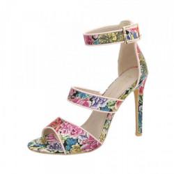Kvetované sandále 1101 Sergio Todzi, 40, Ružová