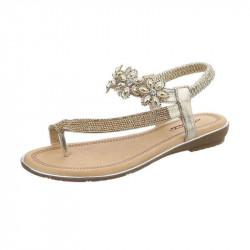 Letné sandále 157 zlaté, 41, zlatá