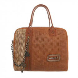 Módna dámska kabelka 1473 hnedá, hnedá