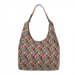 Módna dámska kabelka na rameno 1474 hnedá, hnedá