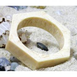 Náramok 744 slonovinová kosť, Béžová