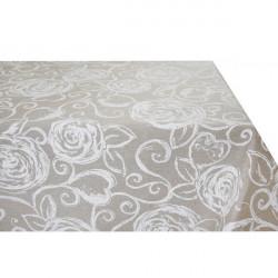 Obrus biele ruže  Made in Italy, 90 x 90 cm