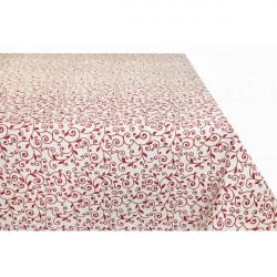 Obrus červené lístie Made in Italy, Béžová, 90 x 90 cm