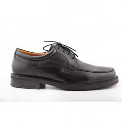 Pánska kožená obuv 303 Freemood, Čierna, 44