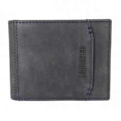 Pánska kožená peňaženka 1032 jeans Route 66, Jeans