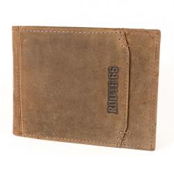 Pánska kožená peňaženka 1032 koňak Route 66, Koňak