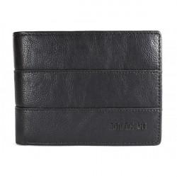 Pánska kožená peňaženka 1034 čierna Route 66, Čierna