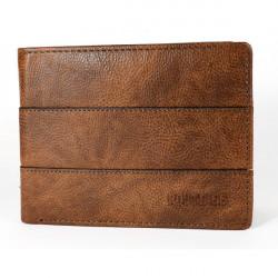 Pánska kožená peňaženka 1034 hnedá Route 66, Hnedá