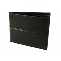 Pánska kožená peňaženka 564 čierna Route66, Čierna