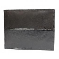 Pánska kožená peňaženka 622 čierna Route 66, Čierna