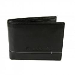 Pánska kožená peňaženka ROUTE 66 čierna, Farba čierna Route 66 597