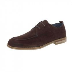 b72a10bdcd0 Pánska kožená spoločenská obuv 1272 hnedá