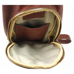 Pánska kožená taška cez rameno 990 čierna, Čierna #1
