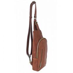 Pánska kožená taška cez rameno 990 čierna, Čierna #2